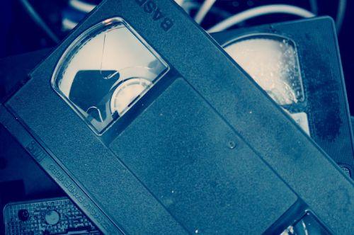vhs video cassette video tape