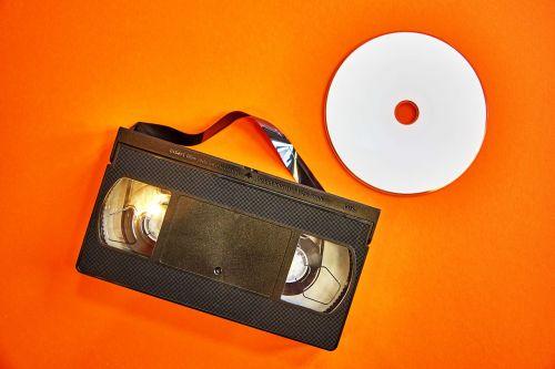 vhs dvd videokasette