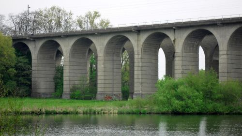 viadukas,viršutinis ežeras,gamta