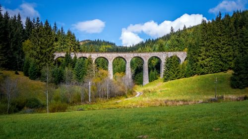 viaduct railway bridge bridge