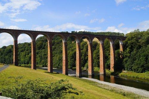 viaduct  scotland  architecture