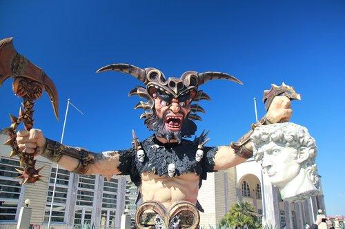 viareggio  mask  carnival