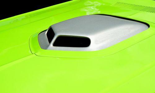 vibrant color customize car hood