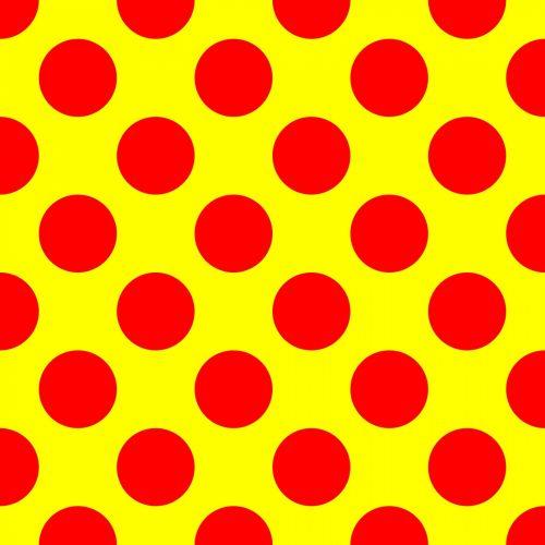Vibrant Polka Dot Pattern