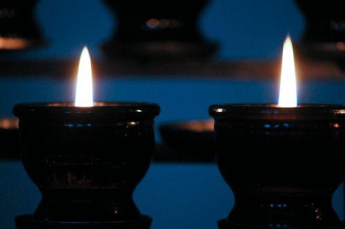 victim candles memorial candles light