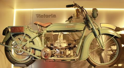 victoria two wheeled vehicle oldtimer