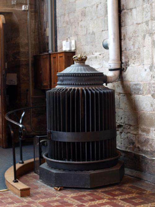 victorian radiator church
