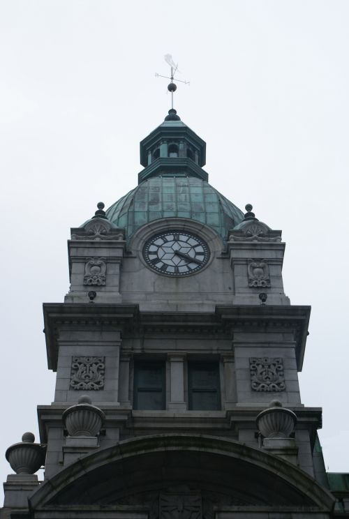 Victorian Clock Sinclair Center