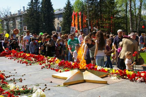 victory day obninsk the eternal flame
