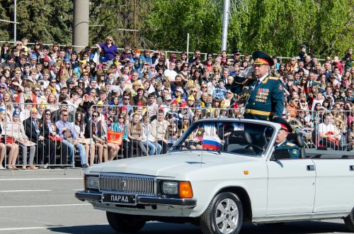 victory day the 9th of may parade