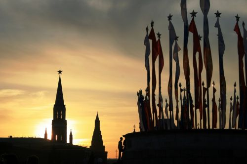 Victory Day Flags, Red Square