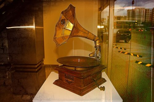victrola music horn