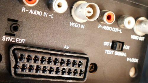 video scart socket