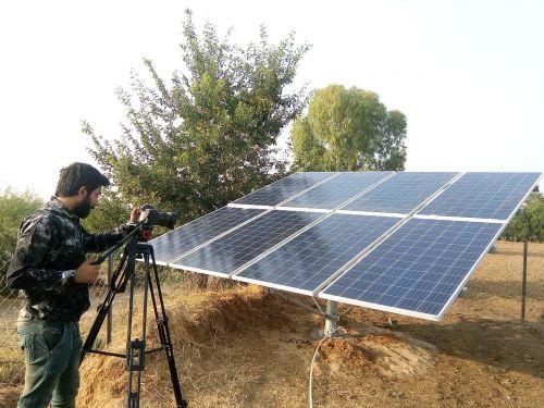 video cameraman field