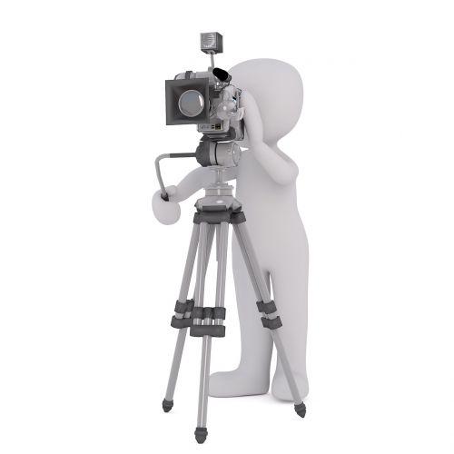 video graf white male 3d model