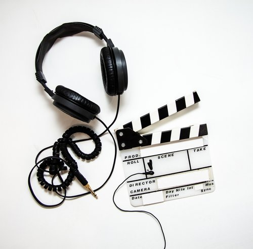 video production  headphones  lavalier