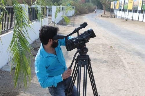 video shooting cameraman video