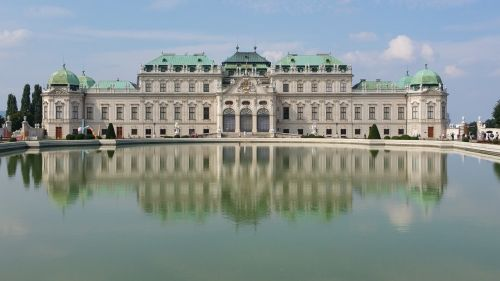 vienna palace belvedere