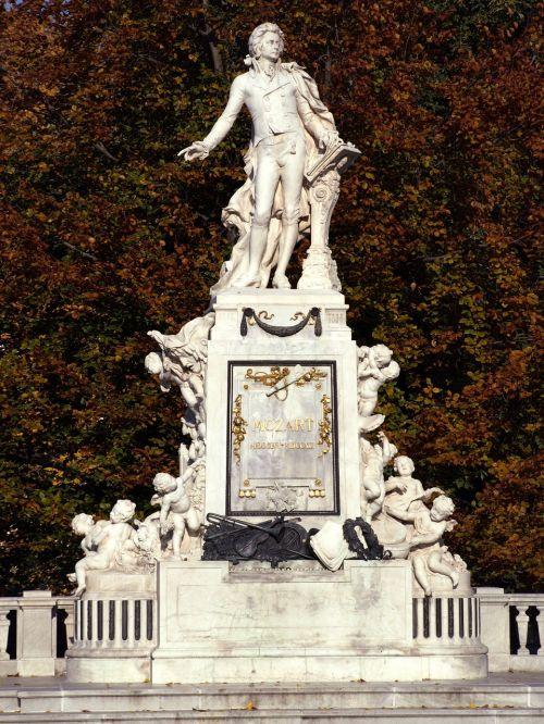 vienna monument mozart