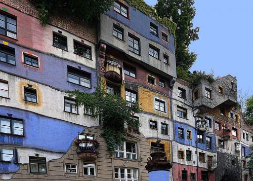 vienna hundertwasser house artists