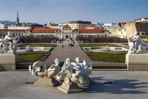 vienna barockschloss belvedere