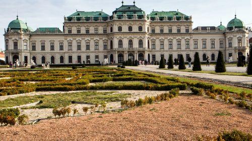 vienna castle belvedere