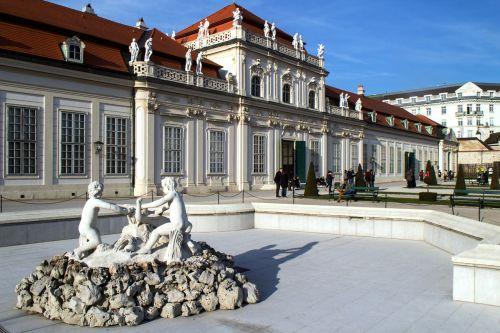 vienna belvedere lower belvedere