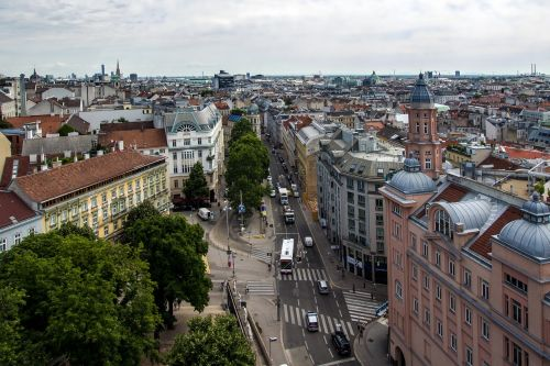 vienna panorama downtown