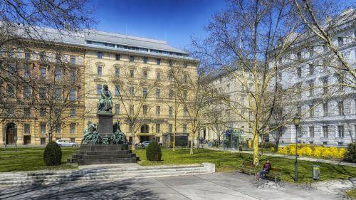 vienna austria beethoven plaza