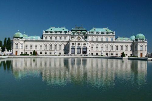 vienna austria belvedere