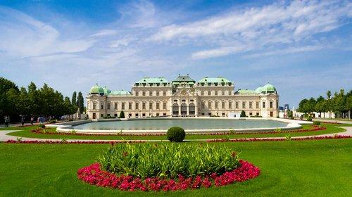 vienna  tourism  garden