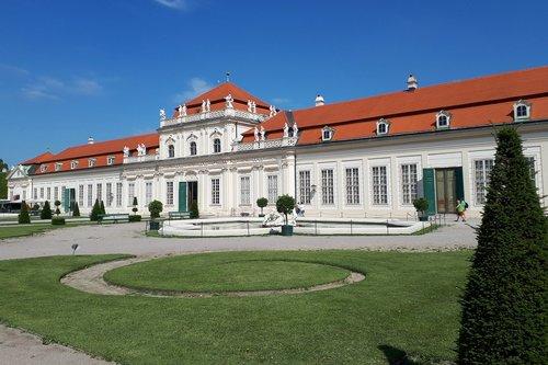 vienna  under the belvedere  belvedere