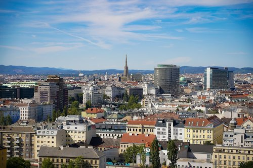 vienna  austria  panorama