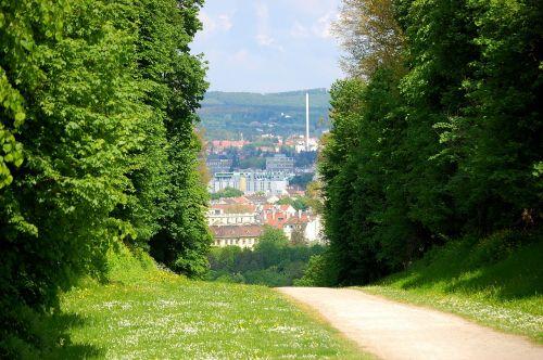 vienna schönbrunn castle park
