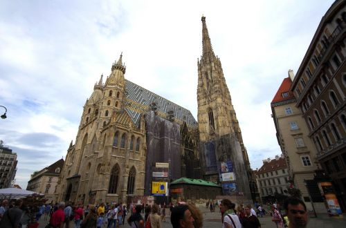 vienna st stephan's cathedral steffl