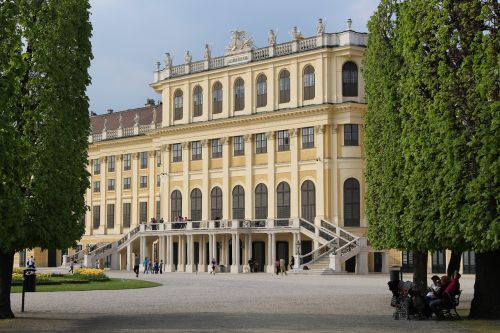vienna castle park austria