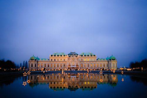 vienna night austria