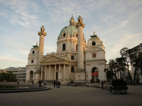 vienna st charles's church baroque