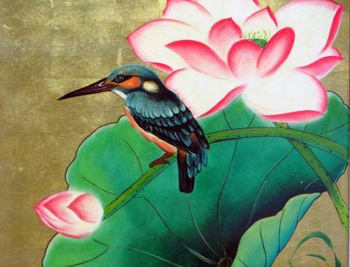 viet nam lacquer bird