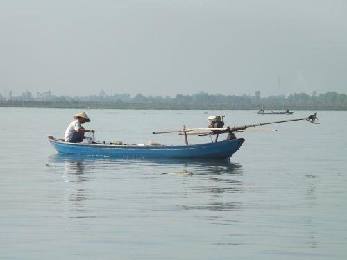 viet nam fishing mékong