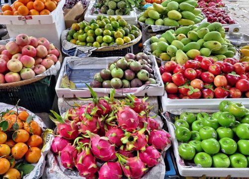 viet nam market fruit
