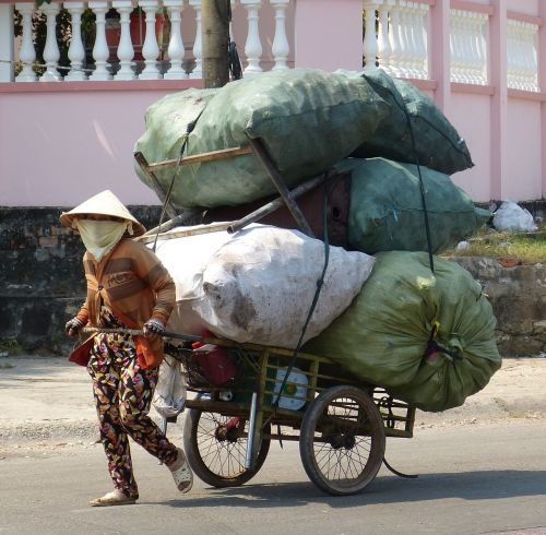vietnam phu quoc garbage