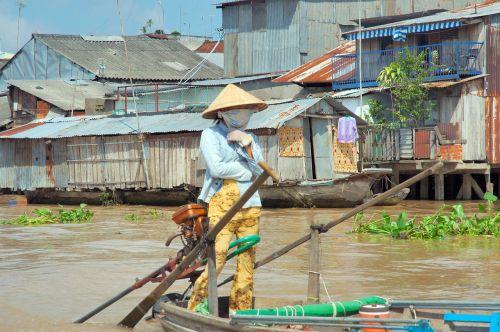 vietnam river barca