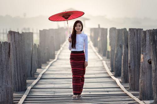 umbrella fashion vietnamese