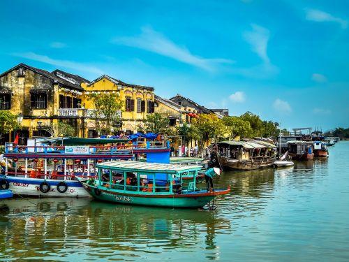 vietnam town asia