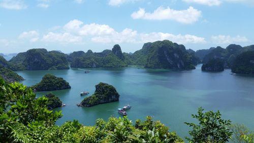 vietnam halong bay vietnam nature