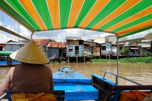 vietnam boat trip river