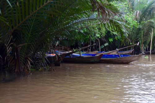 vietnam canoes boats