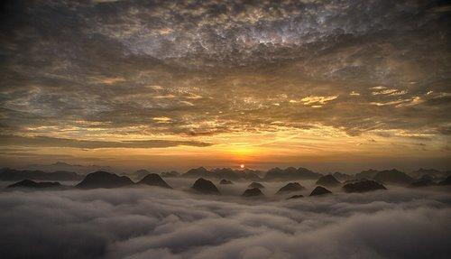 vietnam  landscape photo  binh minh