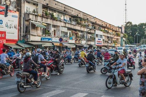 vietnam  ho chi minh  saigon